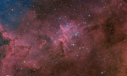 Heart of Heart Nebula